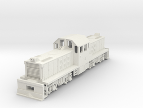 1:76 Scale KIWIRAIL DSG in White Natural Versatile Plastic