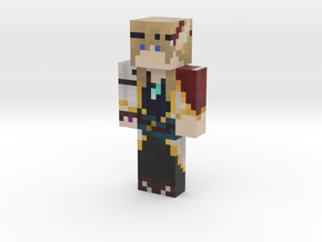 Tenue Architecte - blanc | Minecraft toy in Natural Full Color Sandstone