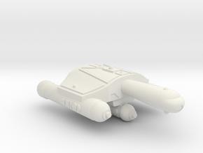 3125 Scale Romulan JayHawk Battle Frigate WEM in White Natural Versatile Plastic