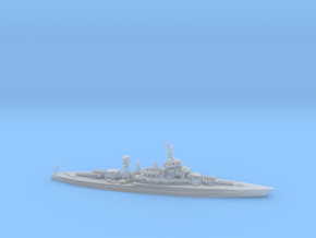 US Colorado-Class Battleship in Smooth Fine Detail Plastic
