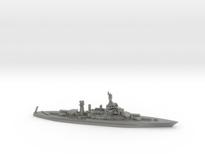 US Colorado-Class Battleship in Gray Professional Plastic