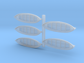 1-450 Lifeboats in Smooth Fine Detail Plastic