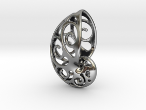 NAUTILUS WAVE in Antique Silver
