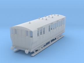 o-148fs-ger-kesr-4w-brake-3rd-coach-no21-1 in Smooth Fine Detail Plastic