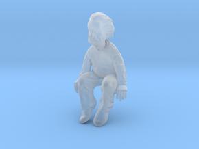 Einstein_desk_buddy_frost_plastic in Smoothest Fine Detail Plastic