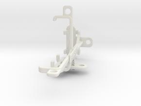 Nokia 106 (2018) tripod & stabilizer mount in White Natural Versatile Plastic