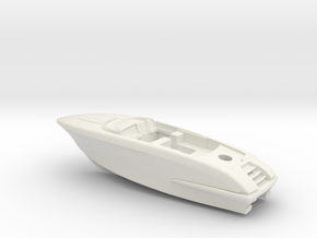 "1/87 RIVA ""Rivamare"" Luxury Yacht - PART 1 in White Natural Versatile Plastic"