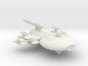 3788 Scale Gorn Carnosaurus-P+ Gunboat/PF Tender in White Natural Versatile Plastic
