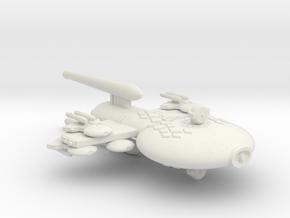 3125 Scale Gorn Carnosaurus-P+ Gunboat/PF Tender in White Natural Versatile Plastic