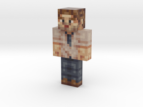 Duke   Minecraft toy in Natural Full Color Sandstone