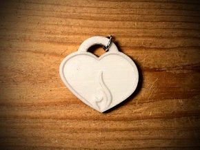 Embracing Intensity Aromatherapy Pendant in Natural Sandstone