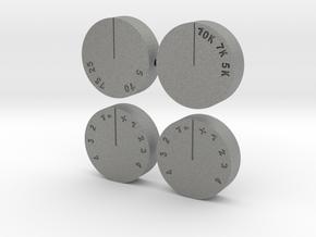 Quad 22 Tone Controls in Gray PA12