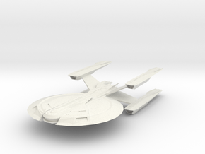 "Cardenas Class  USS Buran  5.1"" long in White Natural Versatile Plastic"