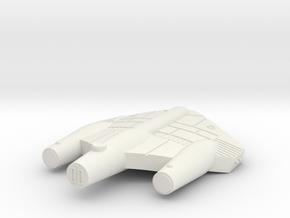 3788 Scale ISC Frigate (FF) SRZ in White Natural Versatile Plastic