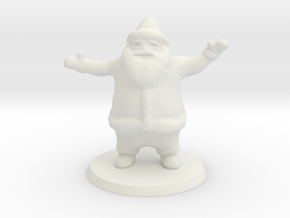 santa 00 gauge in White Natural Versatile Plastic