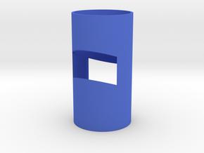 Meteor shower in Blue Processed Versatile Plastic