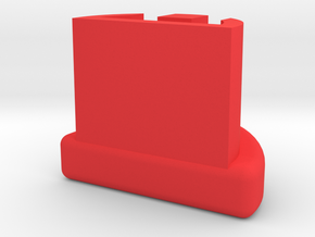 Grip Plug for G17 G18 G19 G23 G25 in Red Processed Versatile Plastic