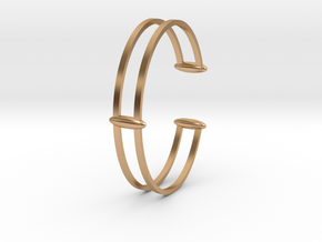 Bracelet 18 in Polished Bronze