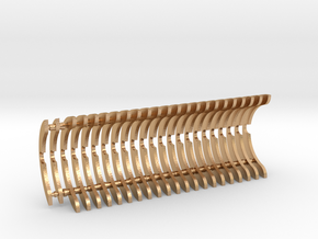 Heat Sink Fins (full) for PP Starkiller in Natural Bronze