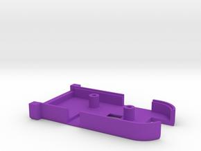 Serial ICY - Gehäuse oben in Purple Processed Versatile Plastic