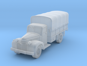 Dodge D15 (covered) scale 1/160 in Smooth Fine Detail Plastic
