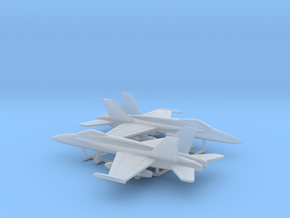 McDonnell Douglas F/A-18A Hornet in Smooth Fine Detail Plastic: 1:400