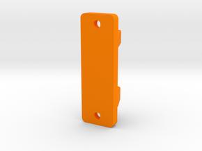 XL - Halterung Schottführung in Orange Processed Versatile Plastic