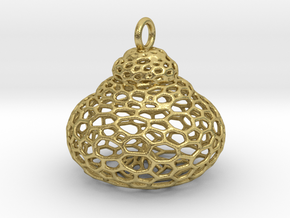 foram 1  in Natural Brass