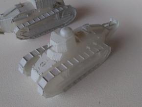 1/87th scale Renault Ft-17 Char Mitrailleuse (omni in Smooth Fine Detail Plastic