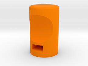 XL - Knopf in Orange Processed Versatile Plastic