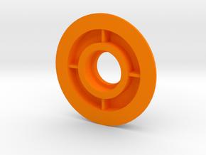 XL - Lager Filamentspule in Orange Processed Versatile Plastic