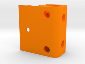 XL - Scharnierfixierung in Orange Processed Versatile Plastic