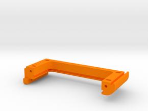 XL - Strebe Netzteil rechts in Orange Processed Versatile Plastic