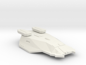 3125 Scale Zosman Light Cruiser (CL) MGL in White Natural Versatile Plastic
