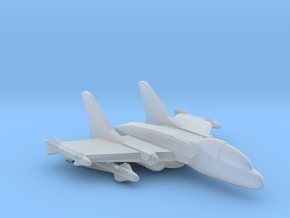 285 Scale Frax Demon-3 Strike Fighter MGL in Smooth Fine Detail Plastic