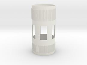 1-48 SIV-B Matt in White Natural Versatile Plastic