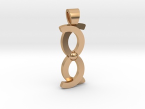 Coma Berenices [pendant] in Polished Bronze