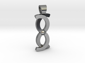 Coma Berenices [pendant] in Polished Silver