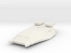 3125 Scale Zosman Heavy Cruiser (CA) MGL in White Natural Versatile Plastic