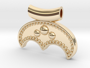 Under the Moon [pendant] in 14K Yellow Gold