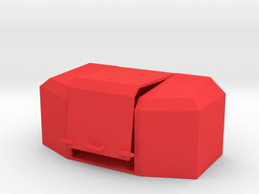 Saatgutbox in Red Processed Versatile Plastic