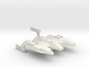 3125 Scale LDR Siberian Lion Space Control Ship CV in White Natural Versatile Plastic