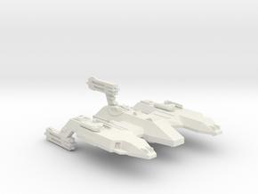 3125 Scale LDR Siberian Lion Space Control Ship CV in White Natural Versatile Plastic