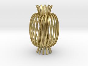 Energy fields -brass in Natural Brass