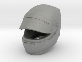 Helmet F1 1/8 open visor in Gray PA12