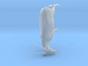 Gemsbok 1:16 Standing Male in Smooth Fine Detail Plastic