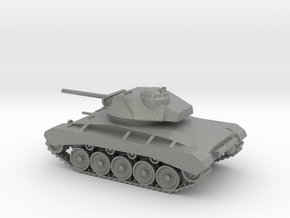 1/144 Scale M24 Tank in Gray PA12