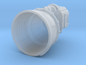 F-1 Engine Batted 1:48 in Smooth Fine Detail Plastic