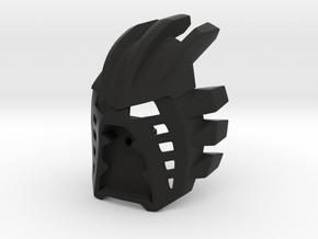 [Titan] Kanohi Avohkii in Black Natural Versatile Plastic