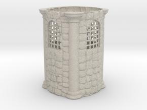 Medieval Penholder in Natural Sandstone